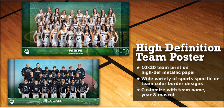 High Definition Team Poster